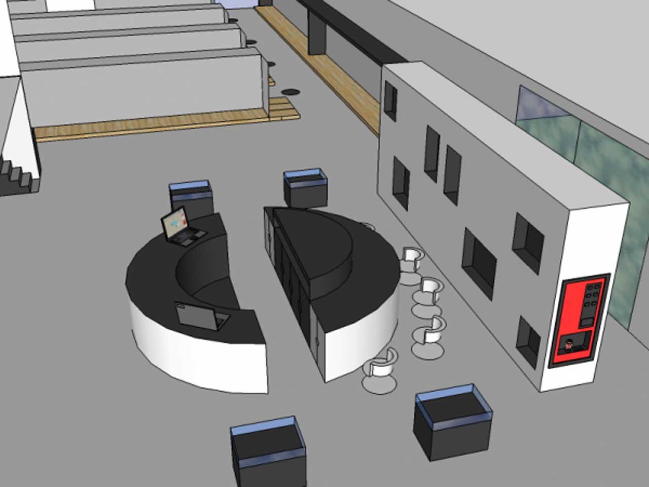 Concept en ontwerp cash & carry alflora markhark store design