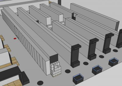 Concept ontwerp cash & carry Alflora