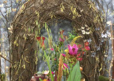 MarkHark Voorjaarsdecoratie FloraZon fleurige bloemen