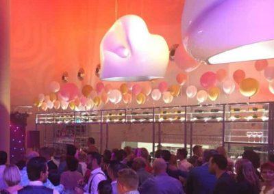 Ballonnenfestijn bruiloft Maaspoort Venlo
