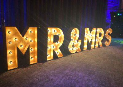 Bruiloft Mr & Mrs