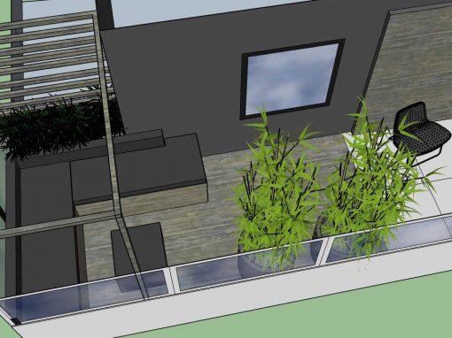 Ontwerp & realisatie balkon Venlo