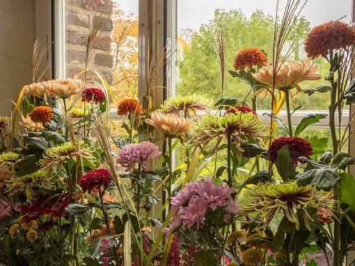 Bloemenshow Kasteeltuinen Arcen